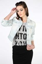 WallFlower Faye Denim Jacket