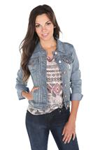 YMI Distressed Denim Jacket