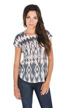Tribal Sublimation Print Sweater
