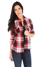Tattoo Sophia Plaid Shirt