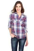 Tattoo Mia Plaid Shirt