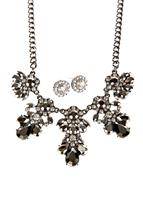 Statement Earring and Necklace Set