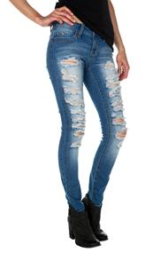 YMI Destructed Wannabettabutt Jean