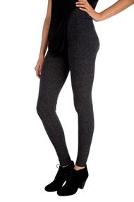 Wide Waistband Space Dye Legging
