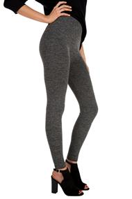 Space Dye Fleece Lined Leggings