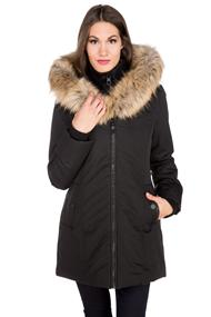 Point Zero Fur Trim Hooded Parka