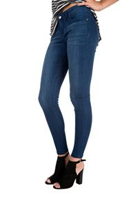 Celebrity Pink Mid Rise Skinny Jeans