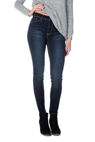 YMI Wannabettashape High-Waisted Dark Wash Skinny Jeans