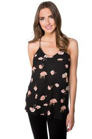 Rose Print Swing Cami