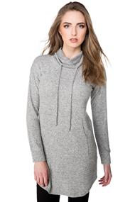 Super soft Tunic Sweater with Kangaroo Pocket