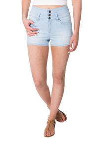 Tattoo Sadie Light Wash High-waisted Short