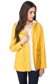 "Only ""New Train"" Short Raincoat"