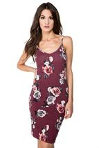Floral Spaghetti Strap Cami Dress