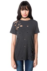 Burnout Short Sleeve Tunic