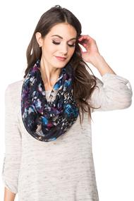 Abstract Light Infinity Scarf