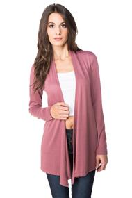 Hacci Long Sleeve Open Cardigan