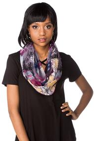Light Abstract Infinity Scarf