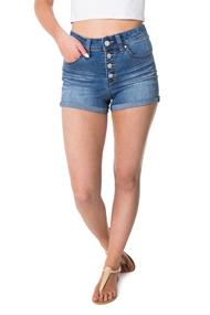 YMI Wannabettabutt Button Fly Jean Shorts