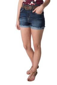 WallFlower Kagan Wash Short with Western Belt