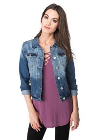 WallFlower Tessa Jean Jacket