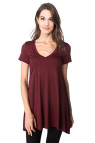 V-neck Tunic with Pocket
