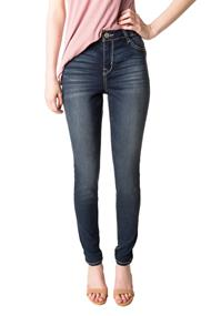 WallFlower Sapphire Wash Mid-Rise Skinny Jeans