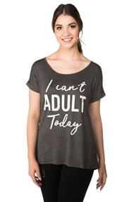 """I Can't Adult Today"" Top"