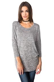 Tunic with 3/4 Length Sleeves