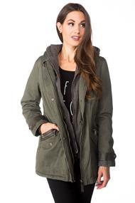 Parka with Zip Out Fleece Hoodie