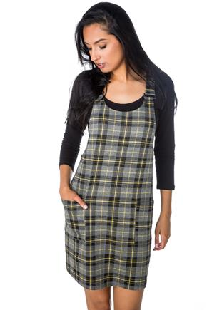Brianna Plaid Jumper