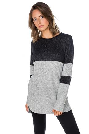 Supersoft Varsity Colour-Blocked Tunic