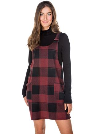 Brushed Plaid Jumper