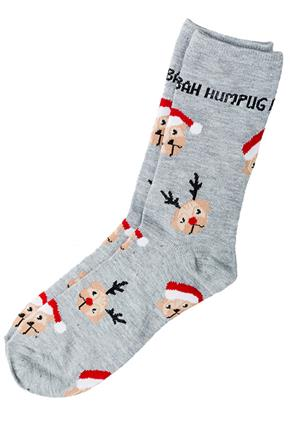 """Bah Humpug"" Sock"