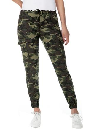 Almost Famous Camouflage Slim Fit Cargo Jogger