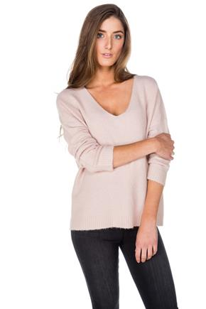 Mossy Long Sleeve V-Neck