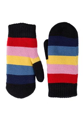 Rainbow Stripe Mitt
