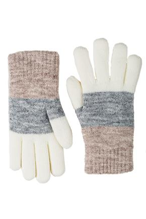 3 Colour Chenille Lined Glove
