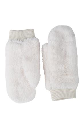Faux Fur Mitt