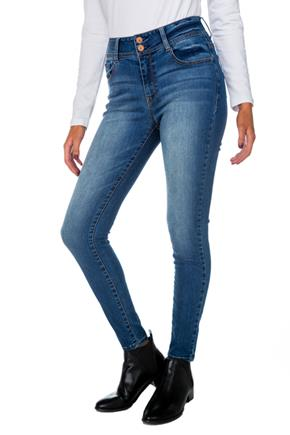 WallFlower Pia Wash Curvy High-Rise Skinny Jean