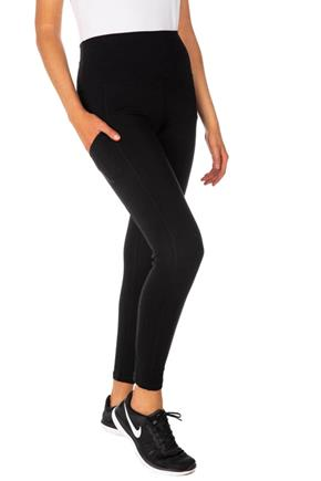 Athletic High-Rise Legging with Pocket Detail