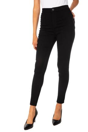 Almost Famous Black High-Rise Skinny Jean