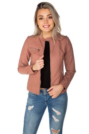 Only Melanie Faux Leather Jacket