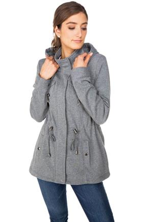 Fleece Hooded Anorak