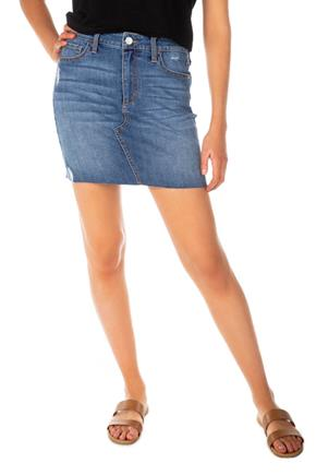 Celebrity Pink Maricopa Wash Denim Skirt