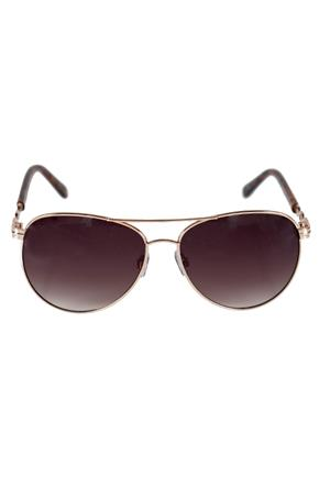Aviator Sunglasses with Chain-Link Arms