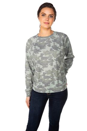 Camouflage Thermal Sweatshirt