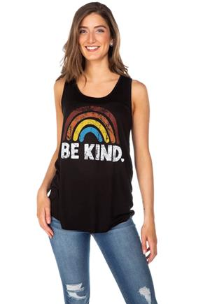 "Camisole à imprimé ""Be Kind"""