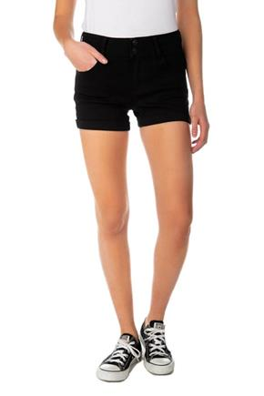 Black WallFlower Insta-Soft Mid-Rise Short