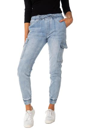 Jogger Almost Famous en denim