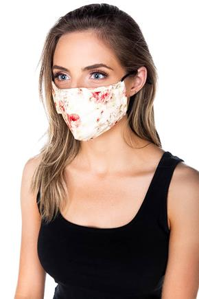 Floral Non-Medical Face Mask